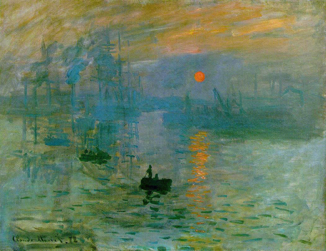 """Impression Sunrise"" by Claude Monet"